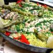 秋刀魚のパエリャ