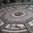 滞在型家庭菜園:エルミタージュ美術館の寄木細工のモザイク床
