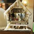 クリスマスのドールハウス