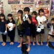 2017.9.22 少年部キッククラス、今日の練習
