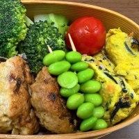 鶏つくねの照り焼き弁当