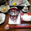 旬の寒ブリ刺身とミルフィーユ鍋