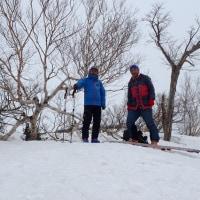 開き直りの山スキー