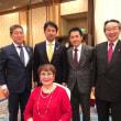 大井川茨城県知事を囲む会に出席しました。