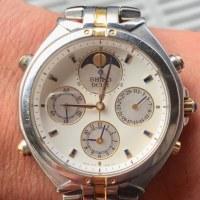 今日の腕時計 12/4 SEIKO DOLCE 7T36-6A90 Moon Phases