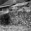 茅葺き民家 石垣の民家