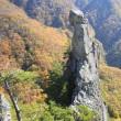 烏帽子岩:松本市本郷