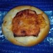 ツナコーンなパンで三時のおやつ、これは新作なんだね:D