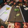 バラ刺繍のトートバック ~8月21日(月)~25日(金)までお休みさせていただきます