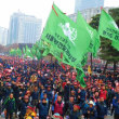 韓国でも労働法改悪阻止 民主労総 ムン政権との激突に突入