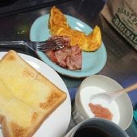 朝食は豪華に
