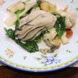 プレートで焼く牡蠣やお好み焼き