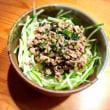 ザ・男の料理『肉味噌ソーメン』