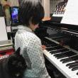 黒猫ジジィ ピアノが弾けるように応援