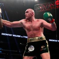ワイルダー、フューリーは痛み分け(WBCヘビー級)