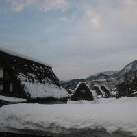 雪の白川郷に行ってきました