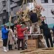 1月13日(日)のつぶやき 有田の火祭り【ほうけんぎょう】高木勝利市議と一緒に出席しました。西新1丁目新春ふれあい祭り【どんと焼】