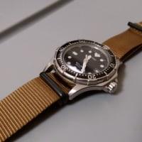 時計ベルト交換。