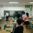 9月21日川口市立幸町小学校の倶楽部活動の風景。