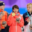なんて日だ! 女子マススタート金メダル、カーリング銅メダル!