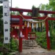 コマクサ咲く丸沼高原より日光白根山を(2017.7.17)