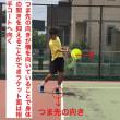 ■フォアハンドストローク  ネットミスの原因④「踏み込み脚のつま先の向きが相手コートに向いている」  〜才能がない人でも上達できるテニスブログ〜