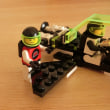 ★昨晩、LEGO宇宙シリーズ #6830【Space Patroller】を〇〇〇TRONカラーで作ってみましたww!!の巻
