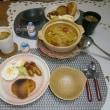 ゴジベリーで薬膳風スープの朝ご飯(お彼岸参り)