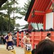 住吉大社で相撲神事がありました。