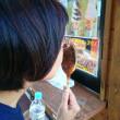 木曽路にトウモロコシ、五平餅、アイスあり