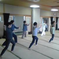 大野コミセン健康太極拳、健康詠春拳