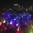 福岡城址での光と音楽のイベント、行ってきました