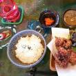 「Village Cafe」さんで沖縄料理を食べました(^_^)