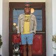 夏場は、バミューダに秋口はシャンブレーのインナーにとオールシーズンお楽しみ頂けるリンガーTです!