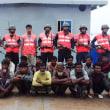 沿岸警備隊が拉致されていた漁民18人を救助した  バングラデシュ