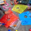 1142) 親子で凧作り ~1月31日 かすが幼児園