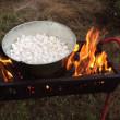 石焼き芋を作ってみた