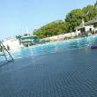 本日は1年以上ぶりに大阪市立長居プールへ。今回は4時からの休憩がありました。午後5時まで泳ぎました。プールから上がった人物としてはラスト1名になりました。