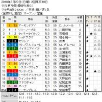 ■オークス(優駿牝馬)結果報告