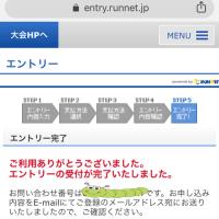 《マラソン》とくしまマラソン【エントリー完了】