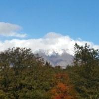 岩手山の雪