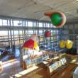 掛川市役所のエンナーレの展示
