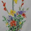 水彩画 花