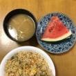 東京五輪・パラのマスコット名発表映像見ながら朝食