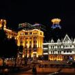 上海の旅 1日目の〆は「外灘」の夜景