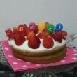 おめでとうケーキ完成です