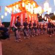 地区の盆踊り