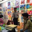 イケミチコ子ども絵画教室展は無事楽しく終わりました。