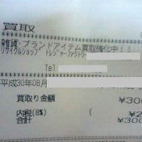 雑貨を売りに行った(300円)