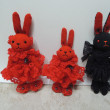 紅いウサギ